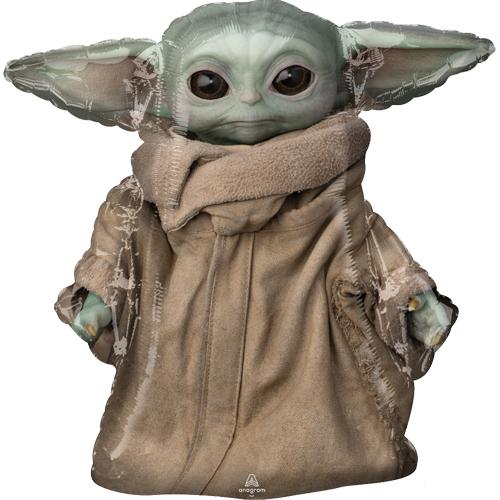 Mandalorian Yoda balloon