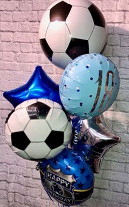 football balloons