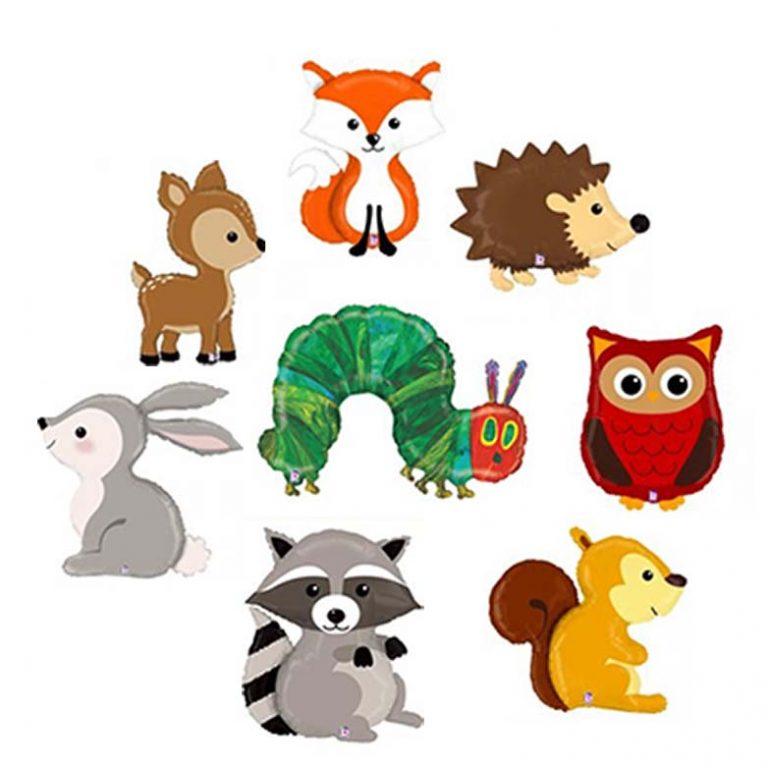 assorted animals