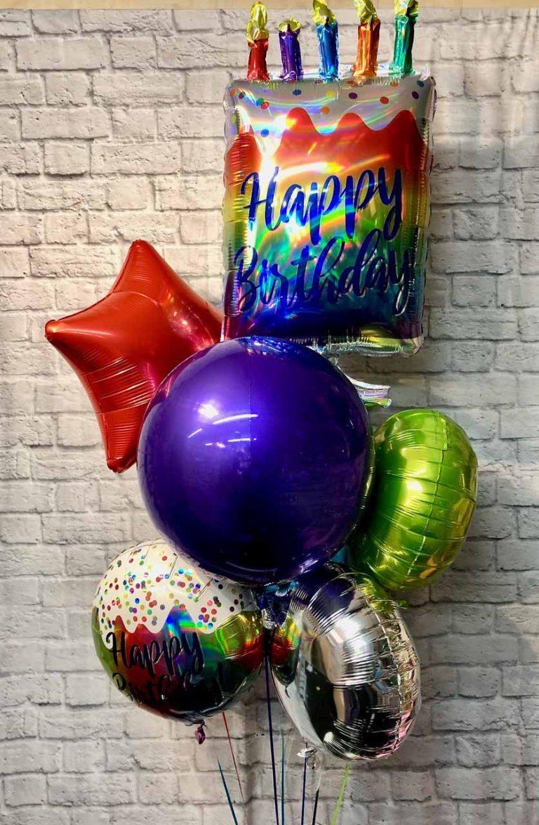 cake balloons