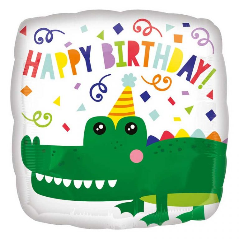crocodile foil balloon