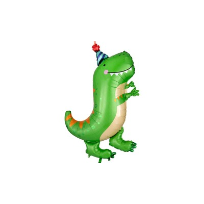 dinosaur in party hat