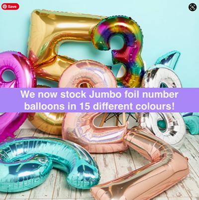 jumbo foil balloons