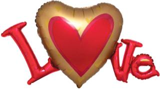 Valentine Balloons - love