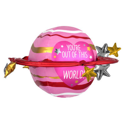 Valentine Balloon - you're out of this world