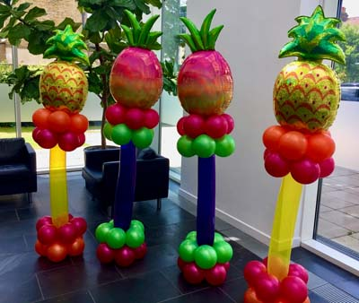 tropical balloon creations
