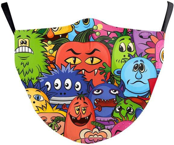 vegetable cartoon mask