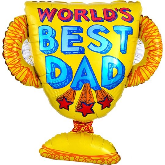 worlds best dad supershape